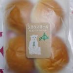 シロクマベーカリー - 酪農バターロール4個入り¥324-