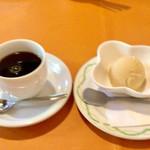 76564550 - きな粉アイス・コーヒー