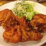 南海飯店 - 鶏の骨付き唐揚げ