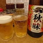 南海飯店 - 瓶ビール