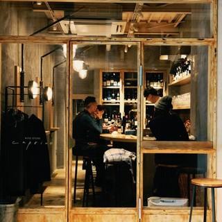 姉妹店open情報!トアウエストにワインスタンド始めました