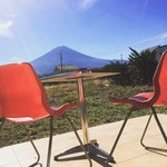 リロンデル - 富士山を一望できるテラス席