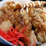 天ぷら てんちゃん - [限定品目]かきととりの天丼