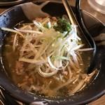 青唐爽麺 ハルク - 青唐そば 烈辛 大盛り