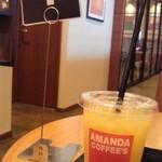 アマンダコーヒーズ - お料理待ち