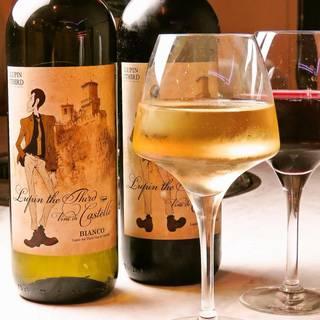 「ルパン三世」と秀苑が手を組んだ。オリジナルコラボワイン誕生