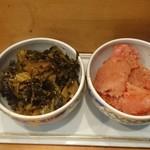 76573036 - 明太子と高菜