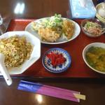 楼蘭 - 料理写真:「からあげ定食」680円