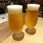 凛丹 一碗居 - ビール(500円)