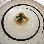 レストラン 花の木 - 魚料理は甘鯛とマツタケ。