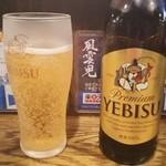 76575789 - ビールはエビスです
