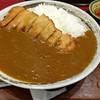 三九郎うどん - 料理写真:カツカレー  大辛