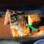 小魚阿も珍 - さばの味噌煮