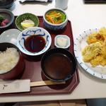 76577677 - ◆天ぷら膳・蘭(1998円)。