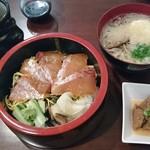 すし雅 - 日替りランチ鯛漬け丼