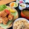 象石 - 料理写真:長州鶏の高田揚げ御前¥1280
