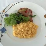 レストラン・ブリーズ・ヴェール - スクランブルエッグ