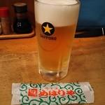 総本家 めはりや - セットの生ビール