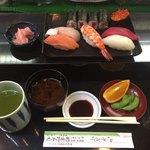 那古野寿司 - 並寿司 ¥800-