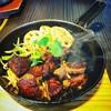 肉処 倉 - 料理写真:サイコロステーキランチ