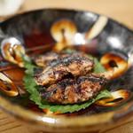藁焼 みかん - 鯖のへしこ