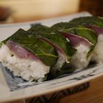 藁焼 みかん - 鯖寿司
