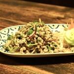 バーンタイ - ☆豚挽肉サラダ 1000円