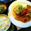 連れてっ亭 - 料理写真:黒豚ロースの生姜焼【平日10食限定日替りランチ】/御飯、味噌汁、サラダ、漬物付き