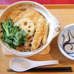 侍.うどん - 鍋焼きカレー