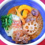侍.うどん - 侍カレー(野菜増し)