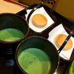 だるまや - 懐石料理を〆る薄茶