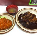 キッチン南海 - カツカレー 大盛り 780円