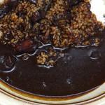 キッチン南海 - ブラックカレー アップ