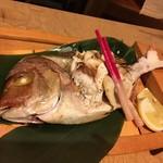 串やき・魚 新宿宮川 - 鯛☆