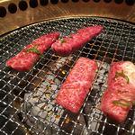 焼肉 やまだ - リブカルビと特上ハラミ