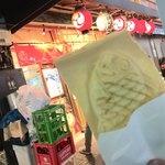 たいやき 神田達磨 - 羽根つきクリーム