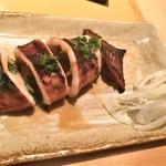 76587908 - 171026木 北海道 味噌キッチン いかのぽっぽ焼き626円