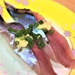 76588117 - 171027金 茨城 回転寿司森田 那珂湊1号店 秋刀魚