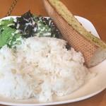 ホットポウ カリーキッチン - ごはんにパンという異色の主菜
