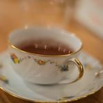 珈琲屋うさぎ - 大吉嶺茶(ダージリンちや)、一杯目(いつぱいめ)