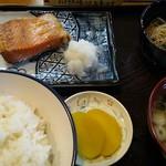 76592459 - 鮭はらみ焼定食