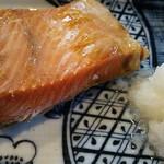 76592461 - 鮭はらみ焼定食
