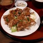 華のれん - 豚から定食