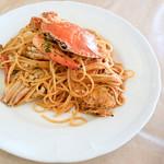 Pasta e Cafe MOCHA - 料理写真:ワタリガニのパスタ トマトクリームソース