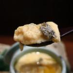 零 - ブルーチーズの茶碗蒸しリフトアップ