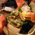 いぶし銀次郎 - 料理写真:ミーバイの活き造り