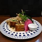零 - 海老真丈の磯の香りのパン挟み揚げ