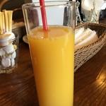 76593962 - 氷抜きオレンジジュース