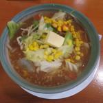 三蔵 - 料理写真:バターのせ野菜らーめん 味噌