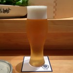 炭Kappo hirac - 生ビール